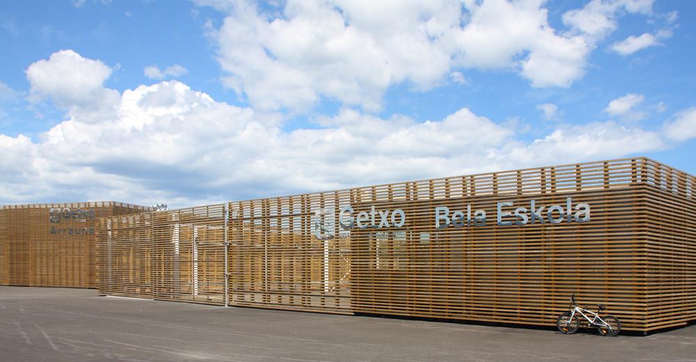 Pabellones de Remo y Vela / Abar Arquitectos + Múgica y DeGoyarzu + Julen Altuna, © Rafael Azpiunza