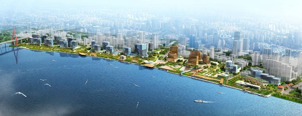 Xin Hua Pudong Waterfront Development Winning Proposal / Inbo + NITA, Courtesy of Inbo + NITA