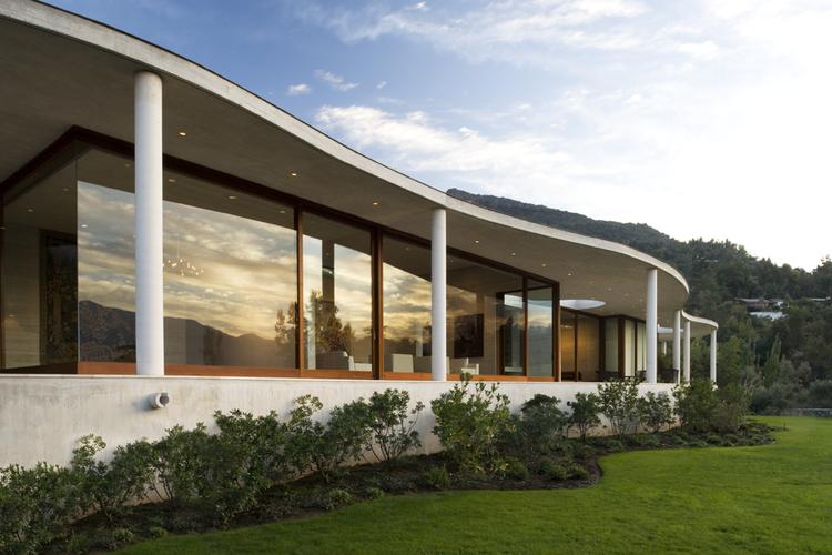 Casa Lo Curro Pe Afiel Arquitectos Archdaily Brasil