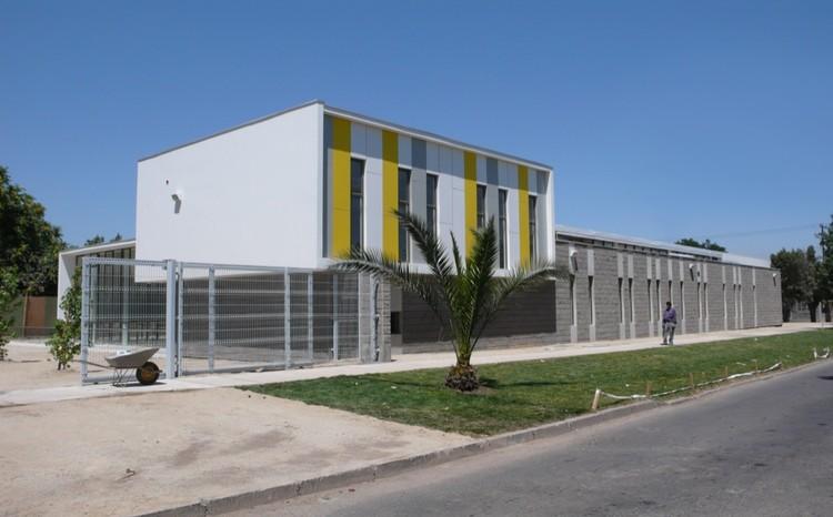 Biblioteca municipal quinta normal juan luis brieva for Biblioteca arquitectura