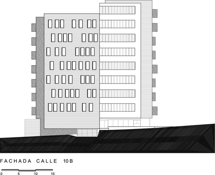 fachada calle 10
