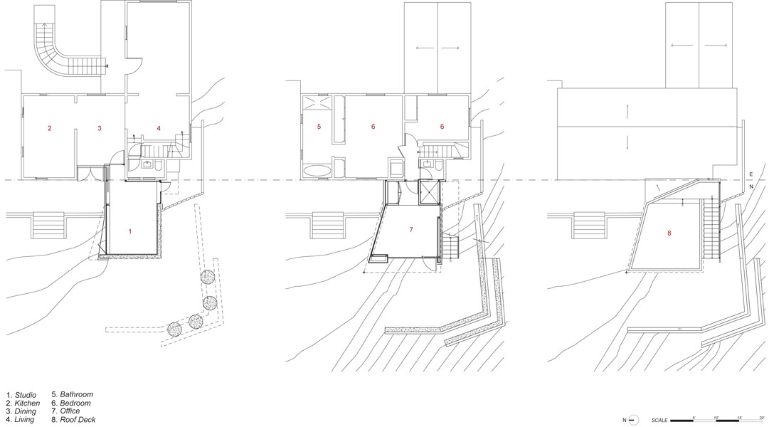 Planta © XTEN Architecture