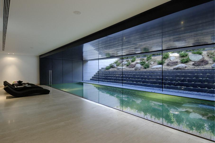 Vivienda en pozuelo alarc n a cero plataforma arquitectura for Tipos de escaleras arquitectura