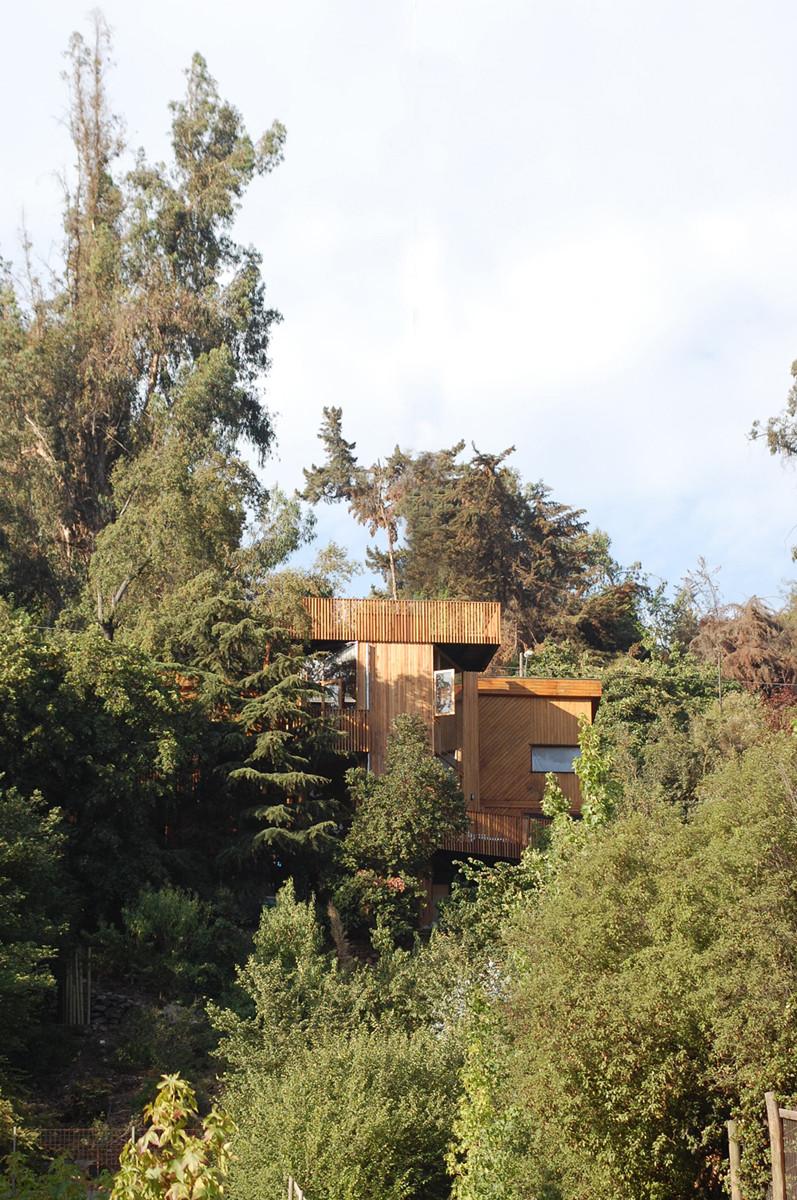 Casa en el Cerro Pochoco / Carreño Sartori Arquitectos, © Mario Carreño Zunino