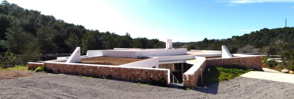 Centro Cívico en Sant Mateu d'Aubarca / Inès Vidal Farré, © Pep Toni Roig Roselló