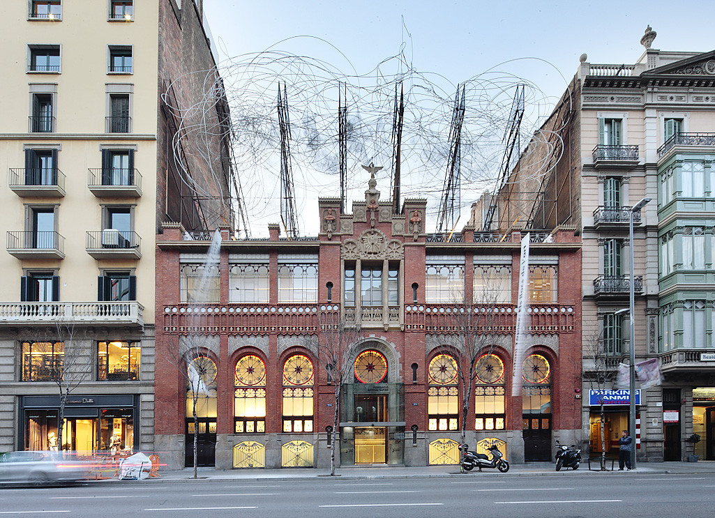 Fundació Antoni Tàpies / Abalos+Sentkiewicz arquitectos, © José Hevia