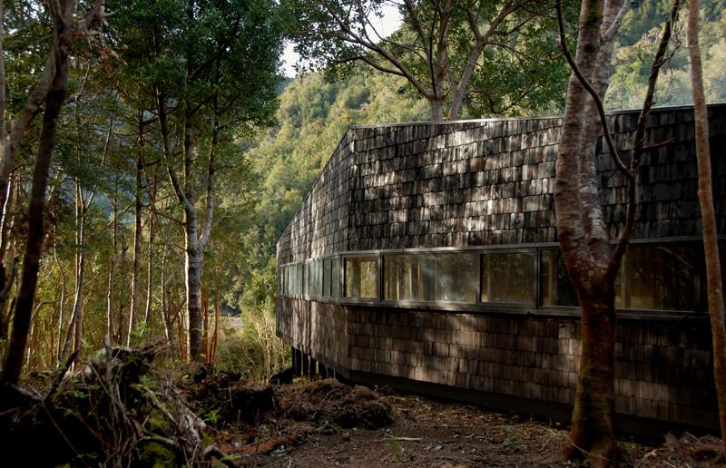 Refugio de Guías en Melimoyu / Armando Montero + Diego Labbé, © Armando Montero