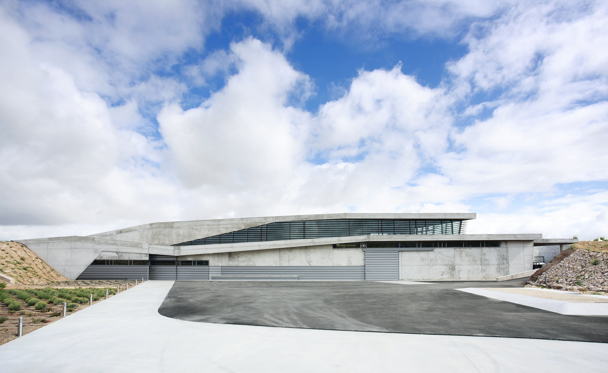 Bodega Qumrán / Konkrit Blu Arquitectura, © José Hevia