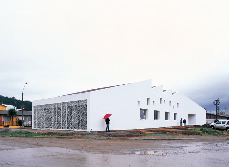 Biblioteca Pública de Licantén / Murua-Valenzuela + Emilio Marin , © Cristobal Palma