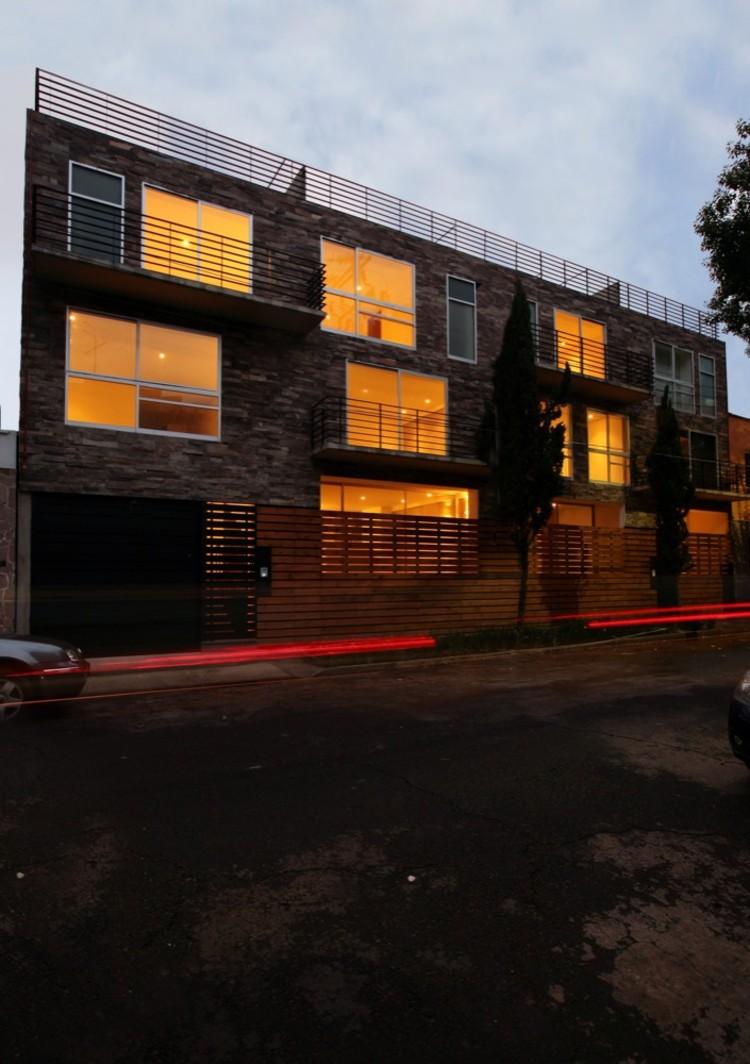 Edificio de viviendas Zitacuaro / Pascal Arquitectos, Cortesía de Pascal Arqutiectos