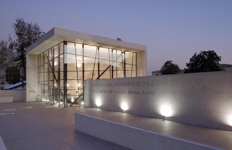 Museo, Centro Cultural y Teatro Carabineros de Chile / Gonzalo Mardones Viviani, Cortesía de Gonzalo Mardones Viviani