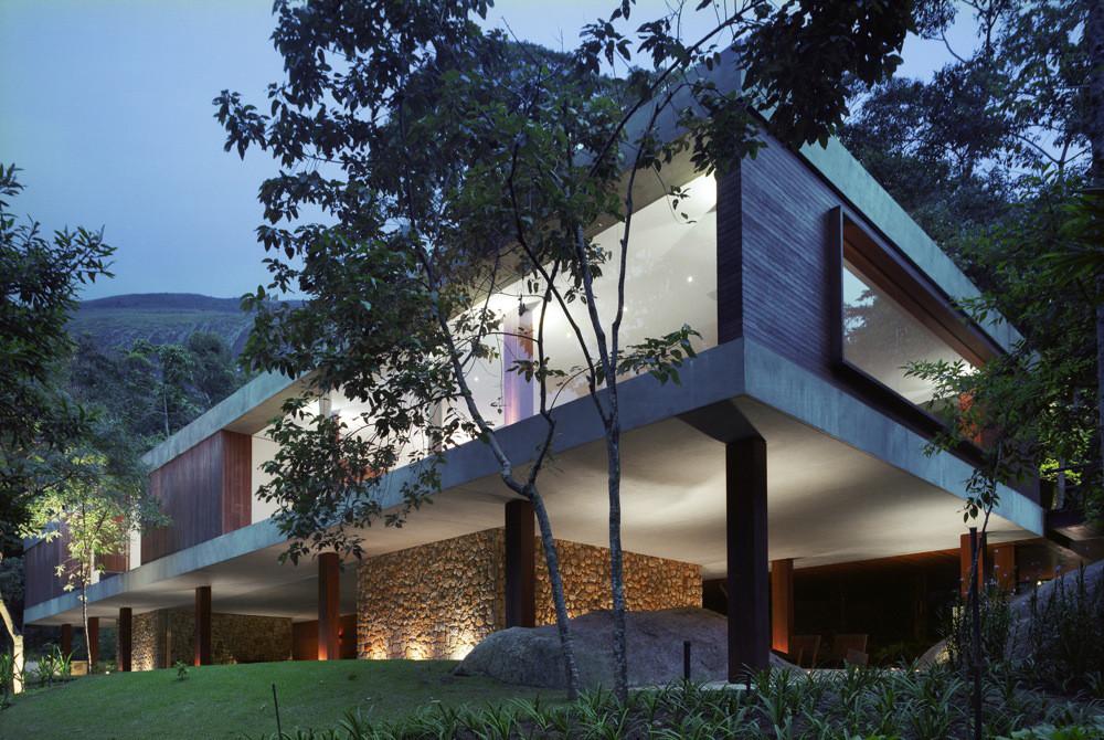 Casa BR / Marcio Kogan, © Nelson Kon