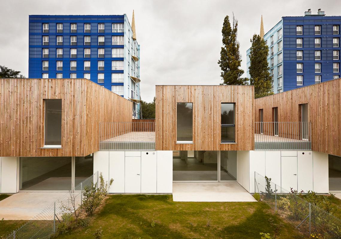 9 Casas en Lens / TANK Architectes, © Julien Lanoo