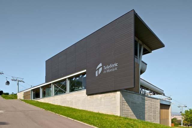 Nuevas estaciones de Teleférico de Montjüic / FORGAS Arquitectos, © Filippo Poli