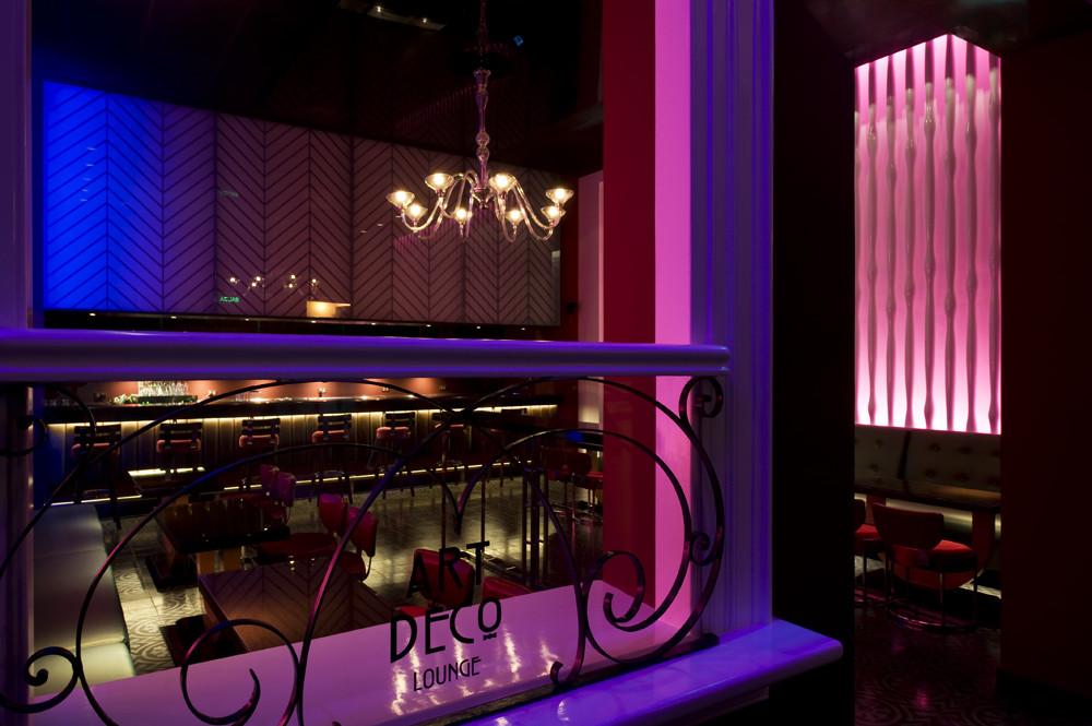 Galer a de pub art deco lounge seinfeld arquitectos 7 - Foto deco lounge ...