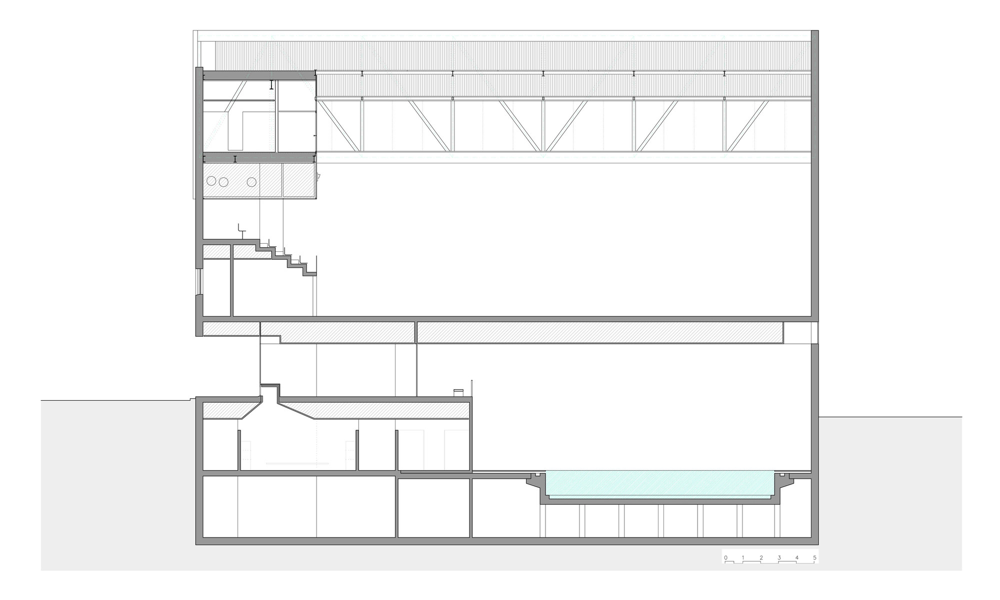 Sports center and indoor pool alday jover arquitectura y for Pool design guidelines