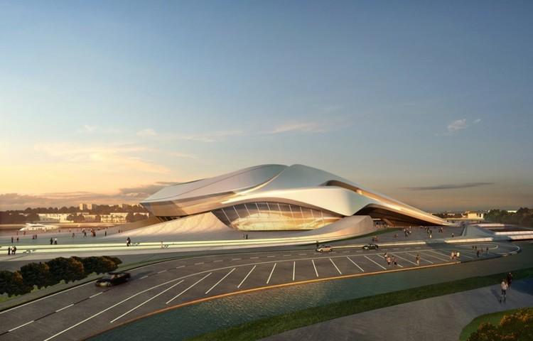 Gran teatro de rabat zaha hadid architects plataforma for Arquitectura zaha hadid