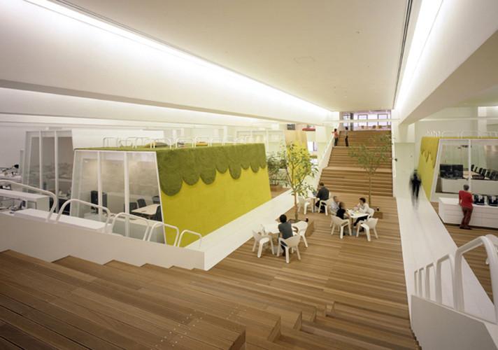 Oficinas TBWA - Hakuhodo / KDa, © Klein Dytham architecture