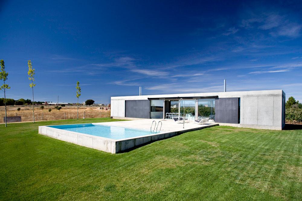 Casa de campo en zamora javier de ant n plataforma - Arquitectos en zamora ...