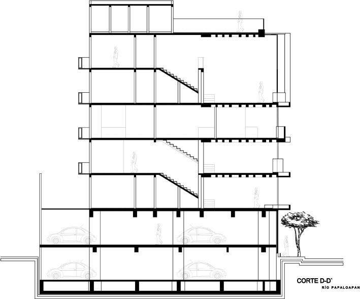 sección d-d