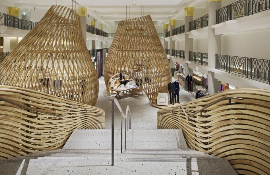 Boutique de Hermes en Hotel Lutetia / RDAI, © Michel Denancé