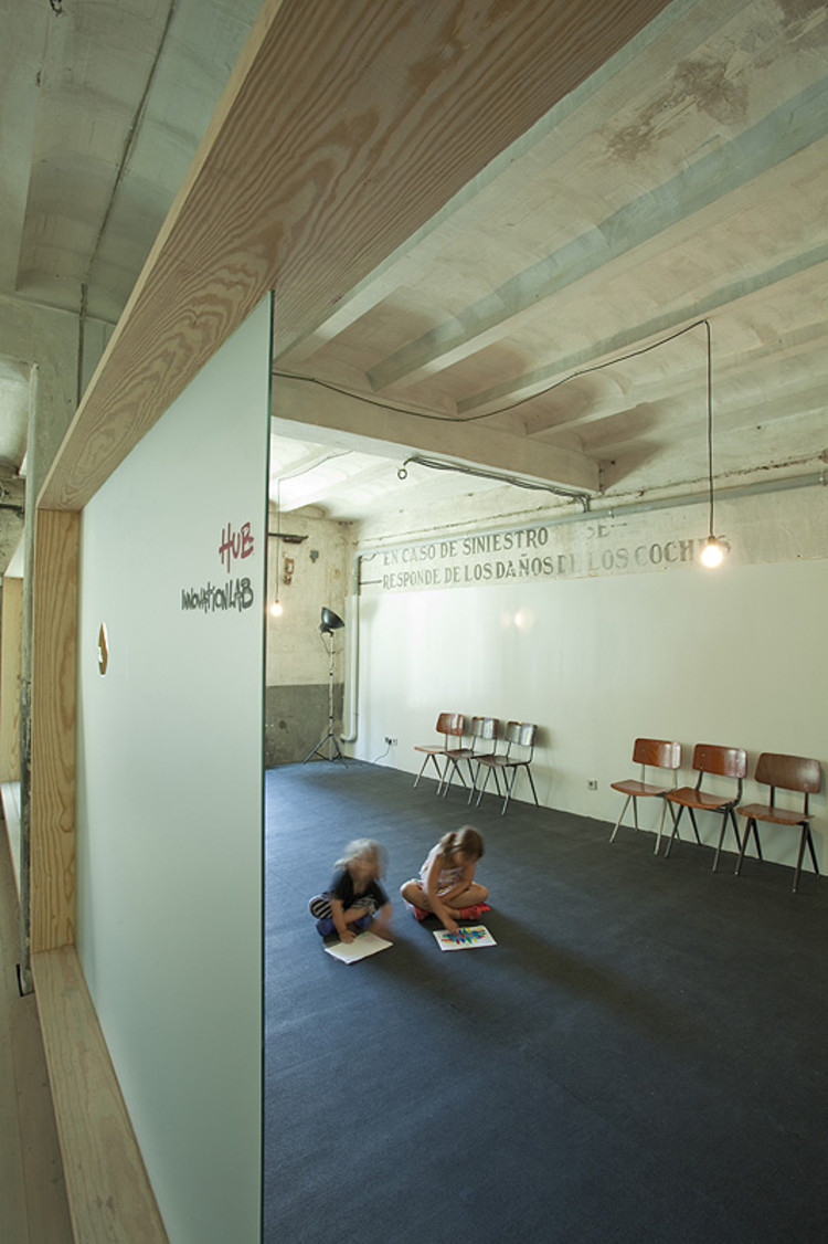 Oficinas Hub Madrid / CH+QS arquitectos  Plataforma ...