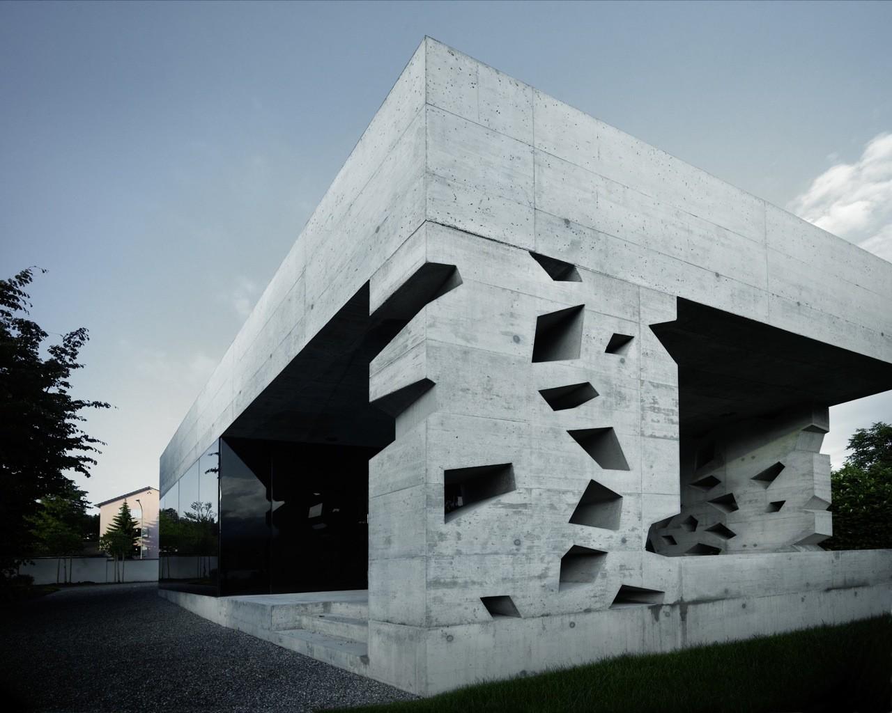 Edificio del Cementerio de Erlenbach / AFGH, © Valentin Jeck