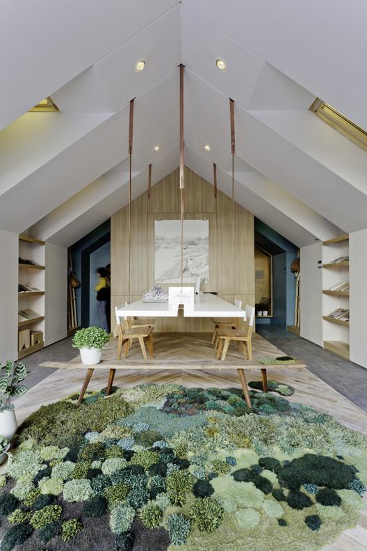 """Casa FOA 2012: """"Home Office"""" / Estudio Nidolab, © Federico Kulekdjian"""