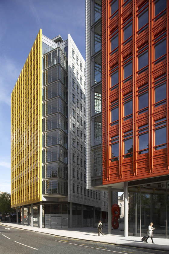 Edificio Central St. Giles Court / Renzo Piano + Fletcher Priest Architects, © Hufton & Crow,  L&G y MEC