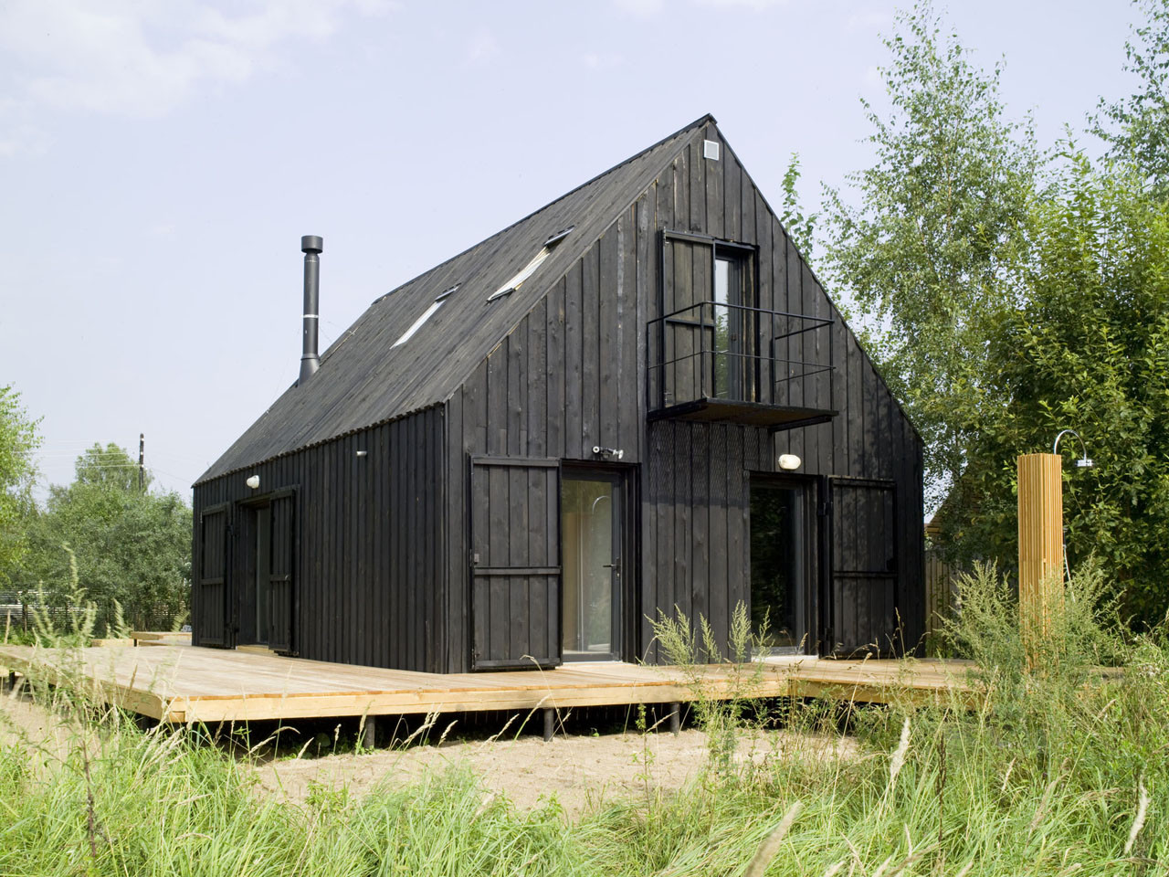 Casa VolgaDacha / Bureau Bernaskoni, © Vlad Efimov / Oleg Dyachenko