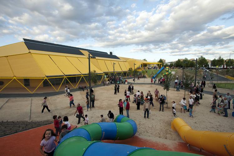 Plaza Ecopolis [Espacio público + Escuela Infantil + Ludoteca] / Ecosistema Urbano, © Emilio Doiztua | Javier De Paz | Isidro Iglesias