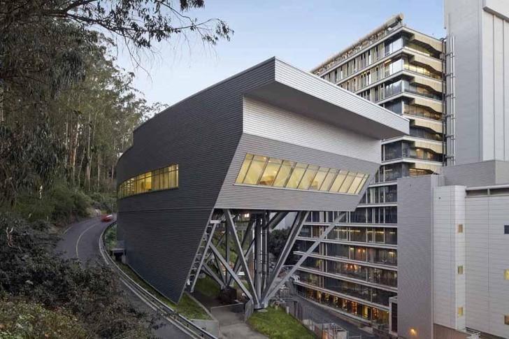 Laboratorios en la Universidad de California / Rafael Viñoly Arquitectos, © Bruce Damonte