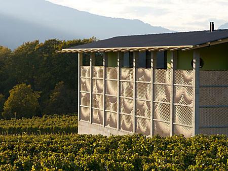 Fachada en Bodega para vinos / Gramazio & Kohler, © Gramazio & Kohler