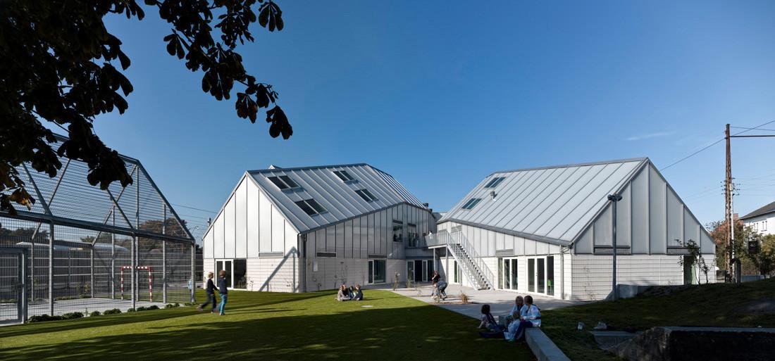Centro de Cultura y Recreación juvenil / Dorte Mandrup + Cebra, © Adam Mørk