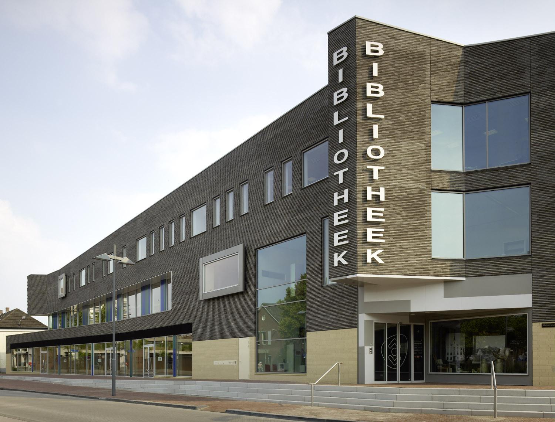 Biblioteca de la ciudad de Helmond / Bolles + Wilson, © Christian Richters