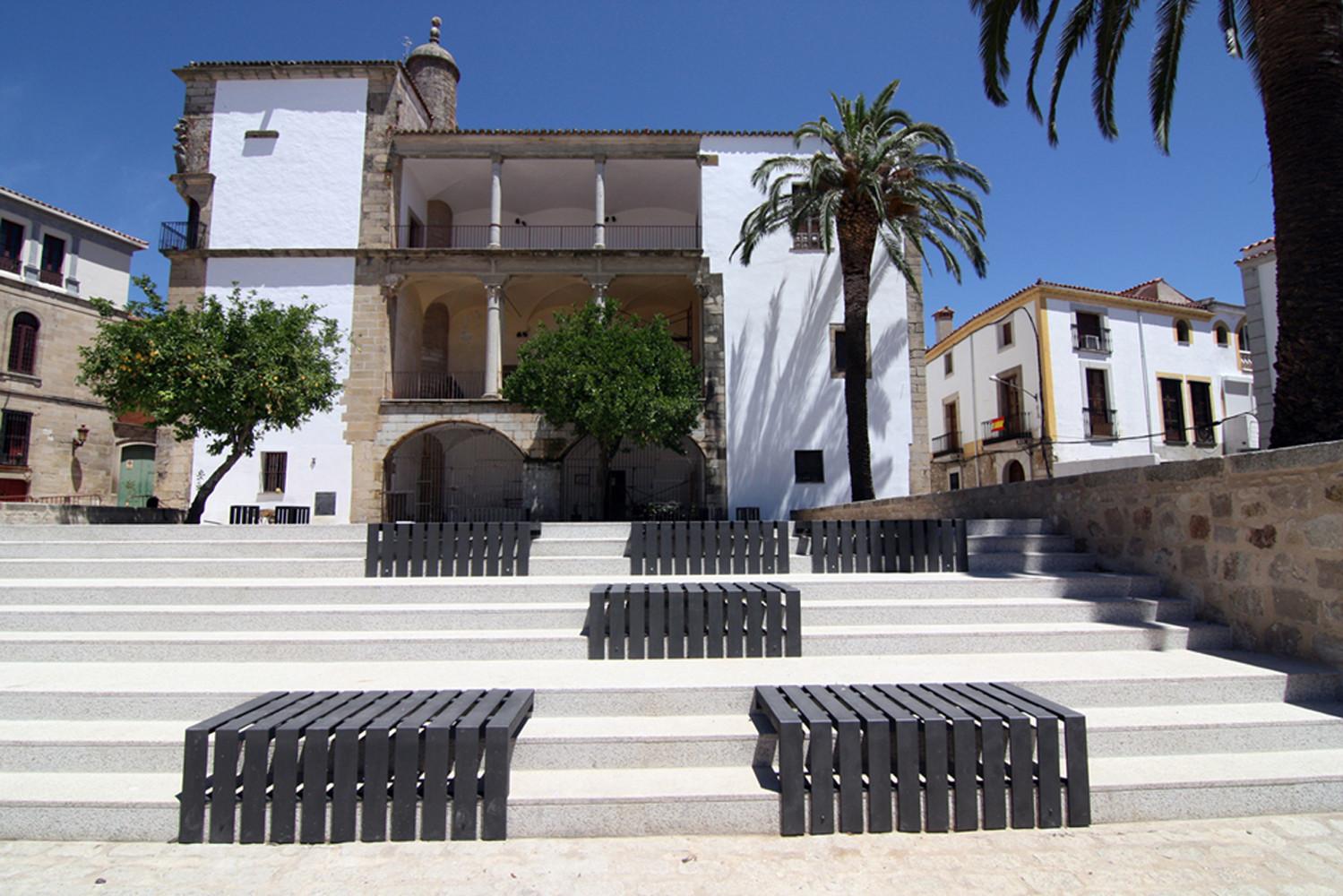 Jardín del Palacio Juan Pizarro de Aragón / Studioata, © Vicente de la Calle