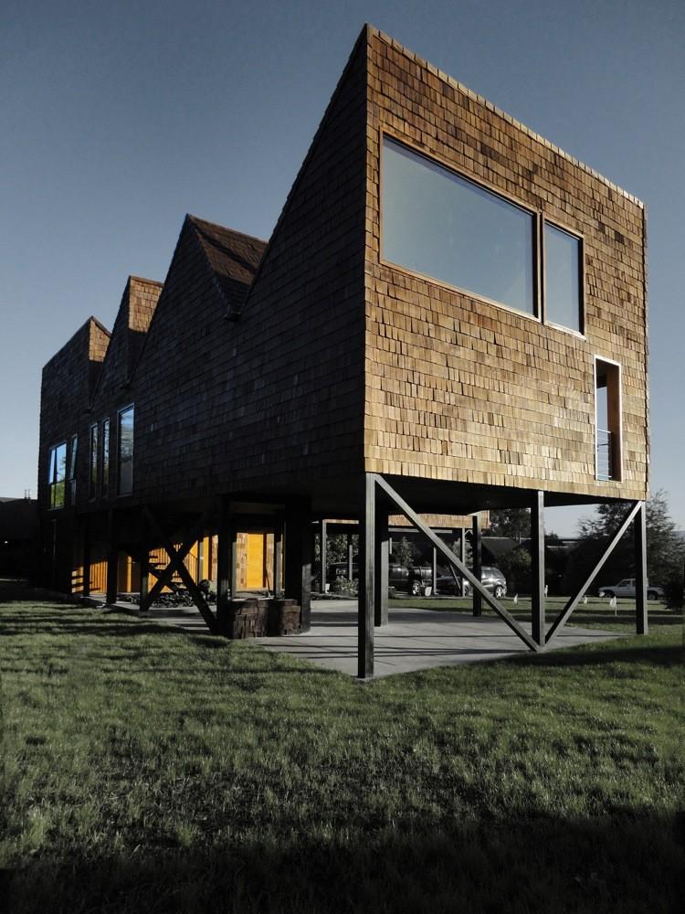 Casa Gueto / Felipe Lagos, Cortesía de Felipe Lagos
