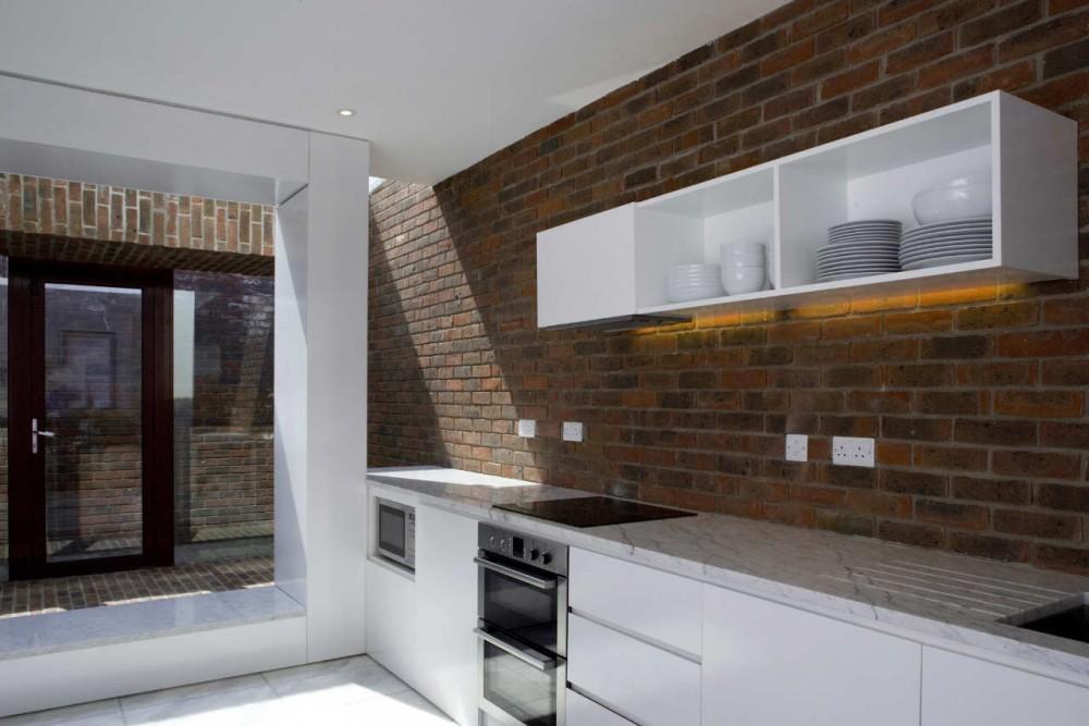 Casa Brick a Back / Architecture Republic, © Paul Tierney Photography