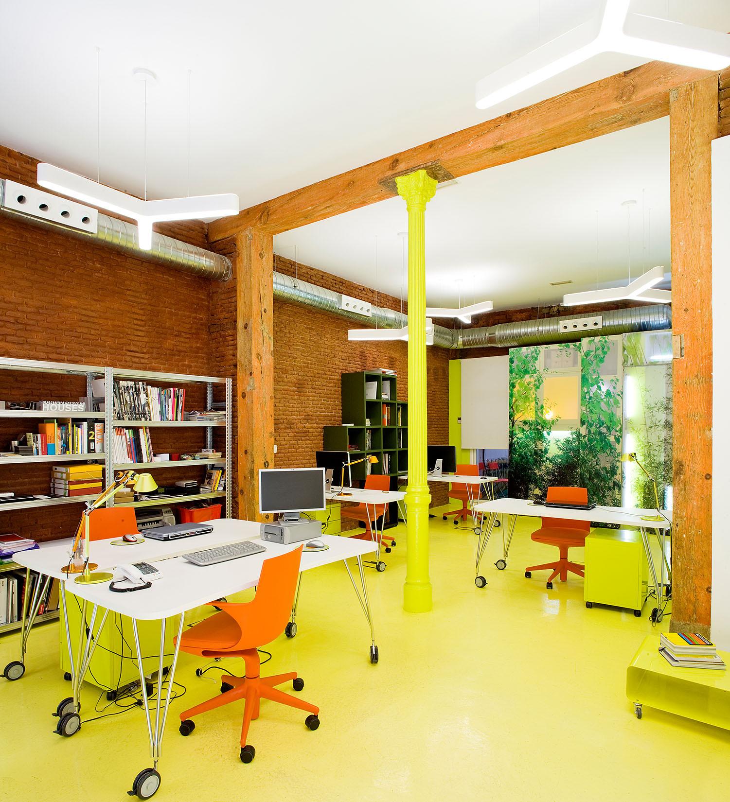 Estudio en Malasaña / Brijuni Arquitectos, © Miguel de Guzmán