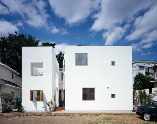 Casa Interior & Casa Exterior / Takeshi Hosaka Architects, © Masao Nishikawa