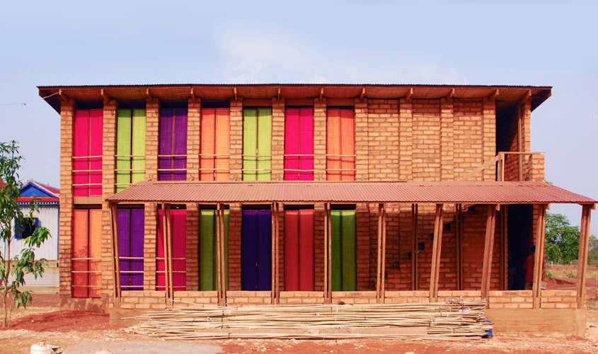 Escuela Vocacional Sra Pou / Architects Rudanko + Kankkunen, © Rudanko + Kankkunen