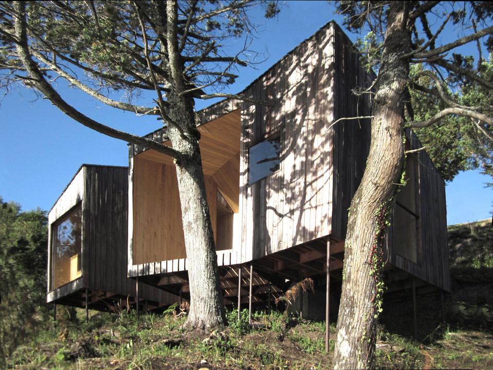 Sauna en Lago Ranco / Panorama Arquitectos, © Panorama