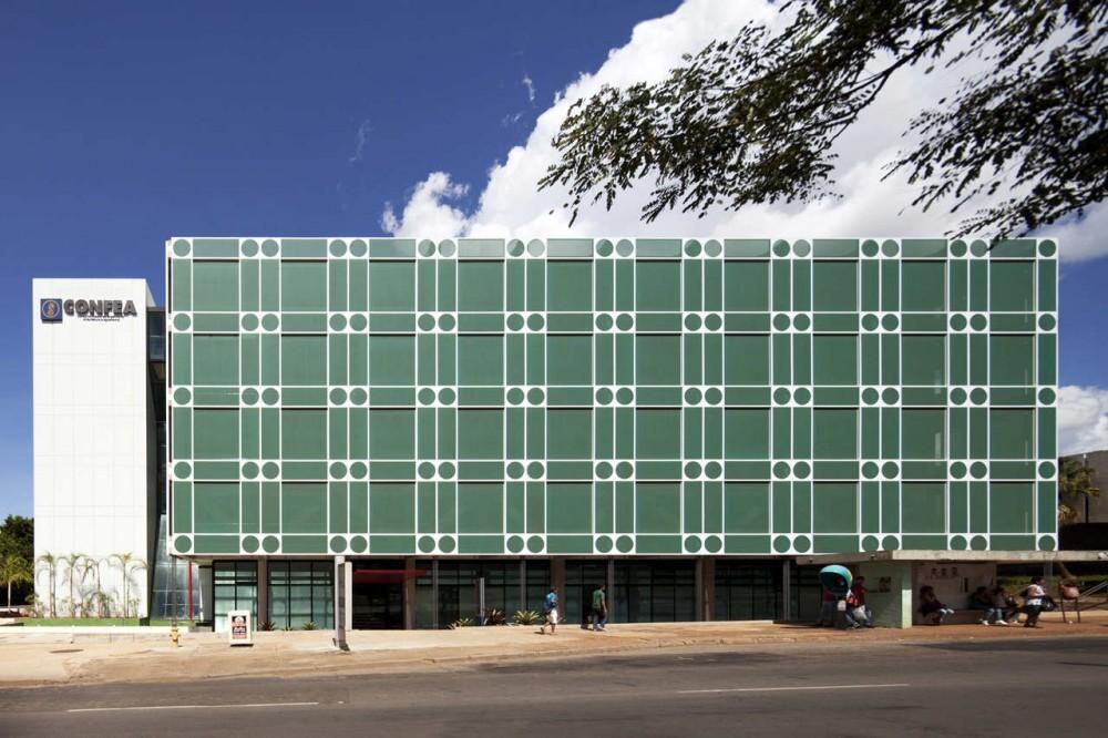 Nueva Sede de CONFEA / PPMS Arquitetos Associados, © Leonardo Finotti