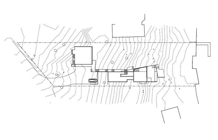 Emplazamiento © David Vandervort Architects