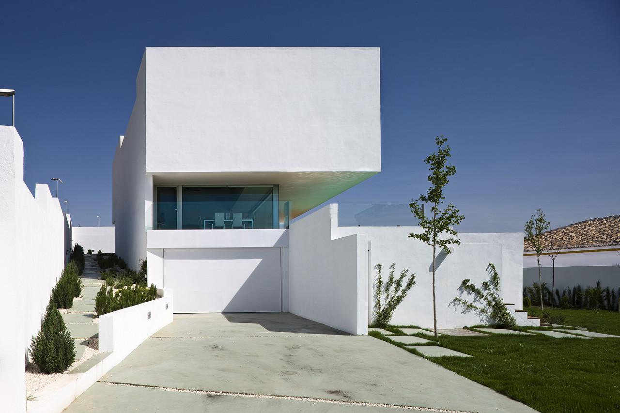Vivienda Unifamiliar en Pedro Verde / Elisa Valero Arquitectura, © Fernando Alda