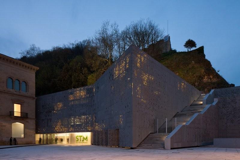 Ampliaci n del museo de san telmo nieto sobejano - Arquitectos san sebastian ...