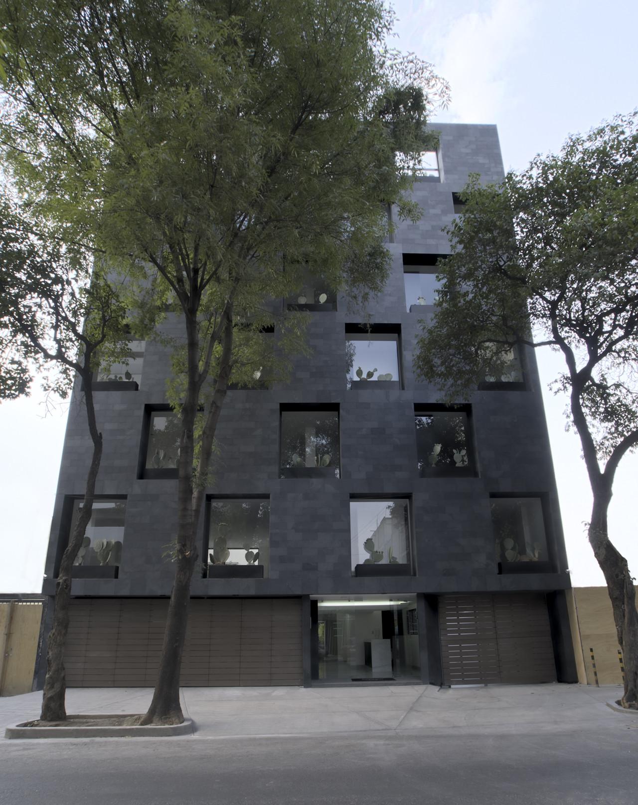 Edificio Sinaloa 193 / Alonso de Garay Arquitectos, © Jimena Carranza