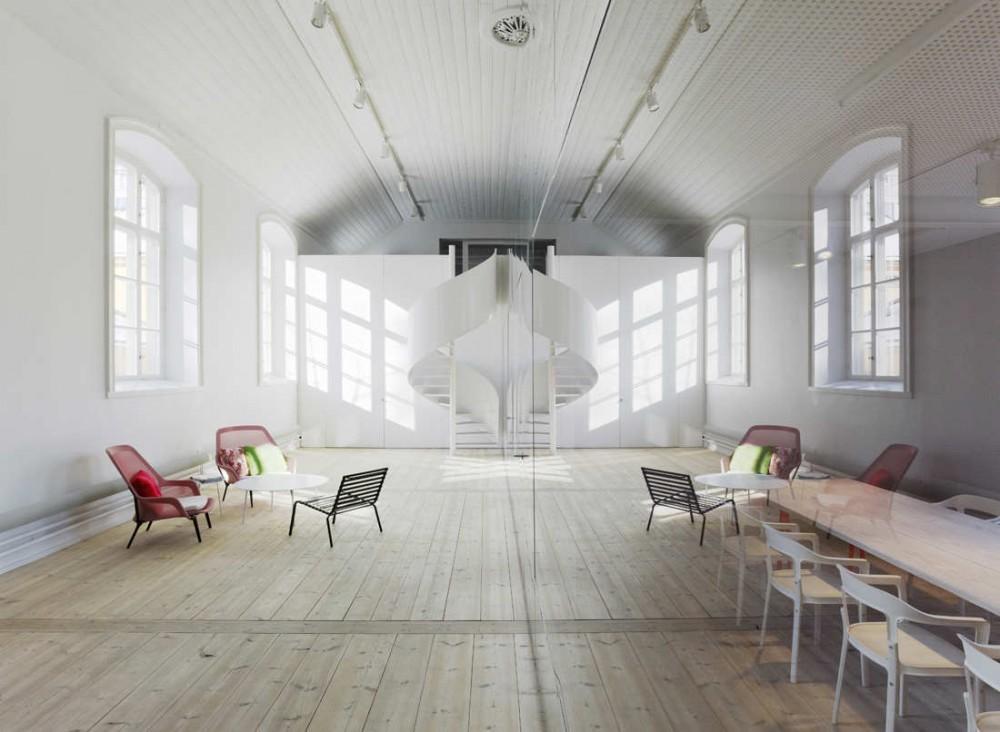 Oficinas No Picnic / Elding Oscarson, © Åke E:son Lindman