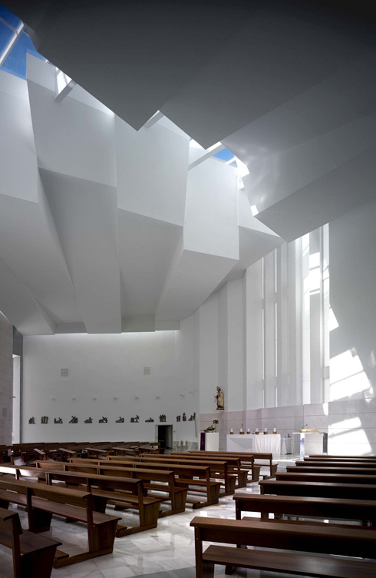 Gallery of santa ana and san joaqu n church rgrm - Arquitecto de interiores ...