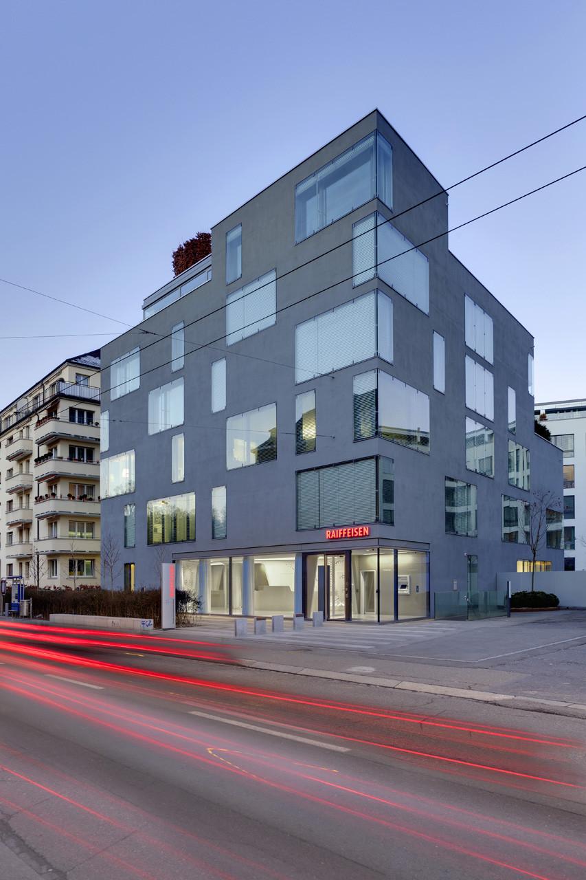 Open Lounge en Raiffeisenbank / NAU Architecture  + DGJ Architekten, © Jan Bitter